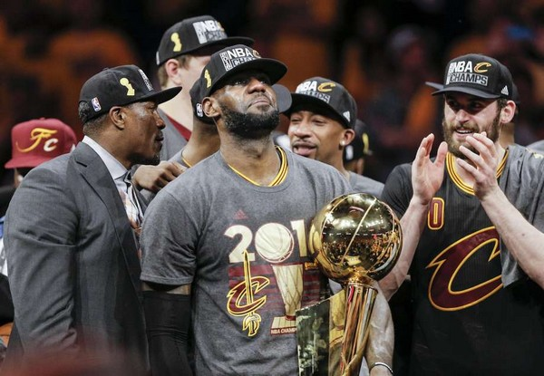 LeBron James champion NBA Cleveland